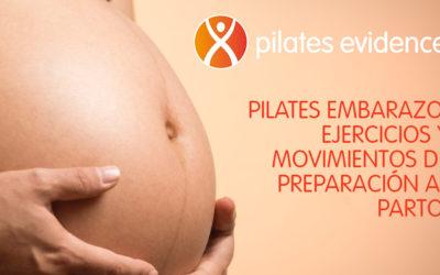 Pilates embarazo: ejercicios y movimientos de preparación al parto.
